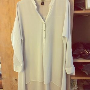 Chico's Black Label collection blouse/tunic